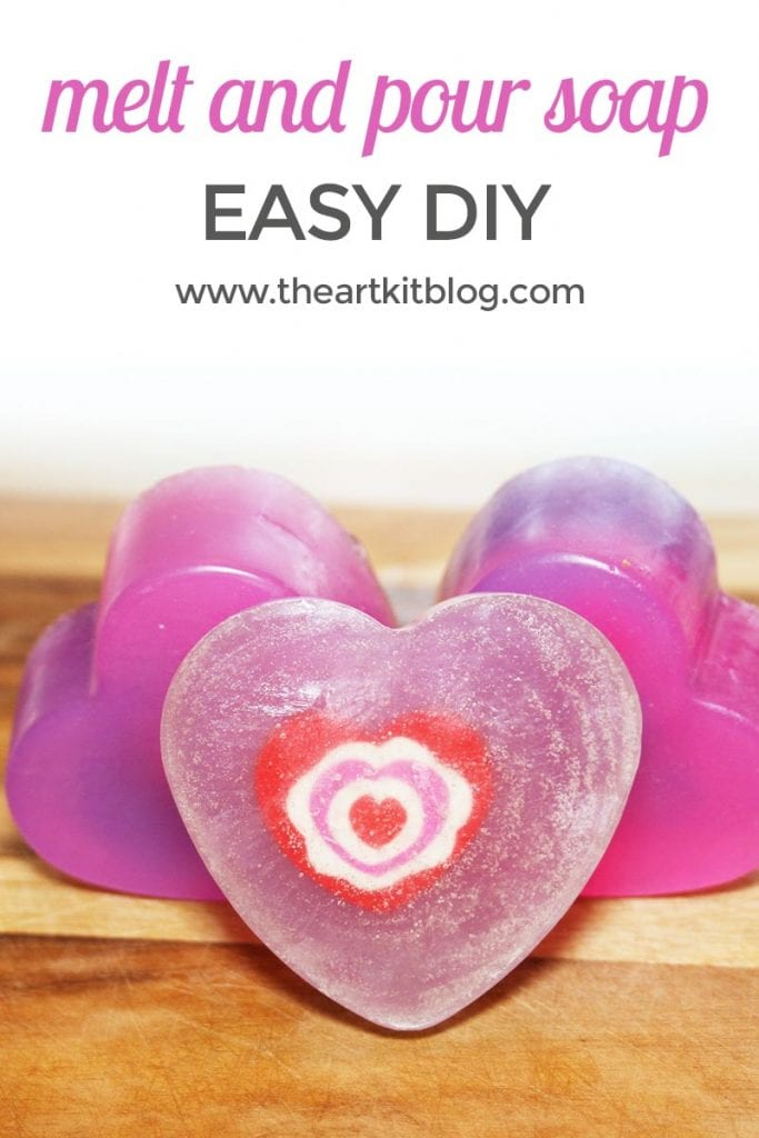 MELT AND POUR SOAP DIY THE ART KIT