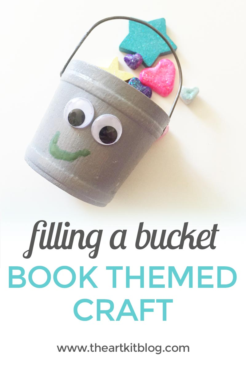 Have you filled a bucket today? Encourage positive behavior with this book and craft from @theartkit www.theartkitblog.com
