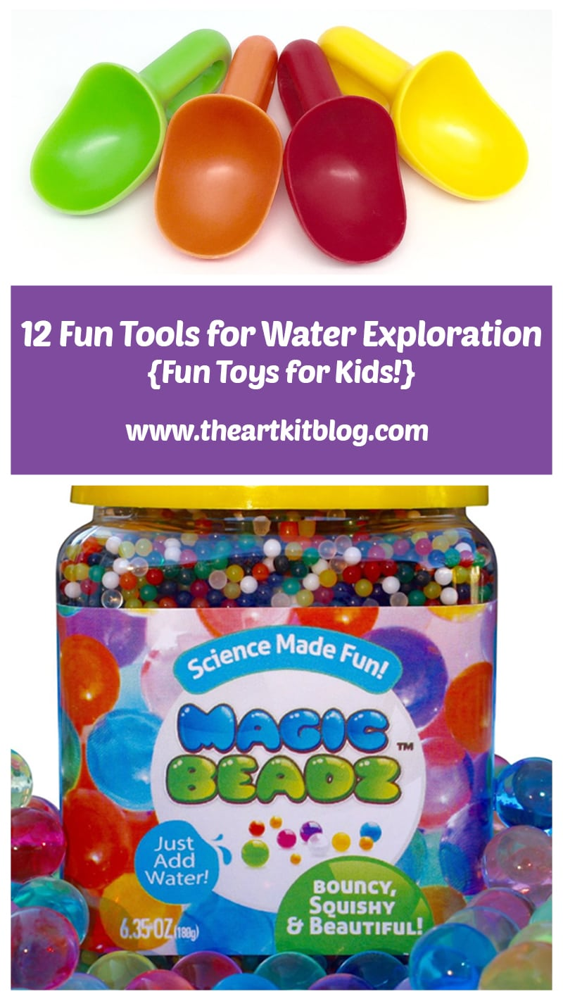 Water Exploration Tools for Kids by The Art Kit Blog