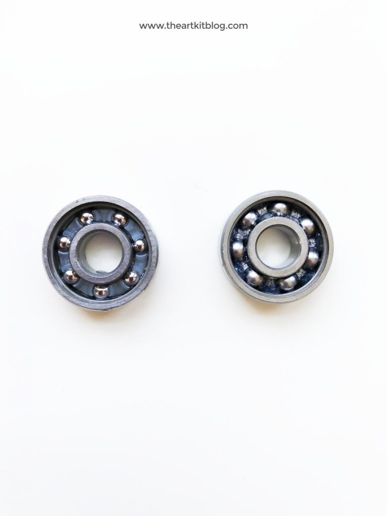 How to degrease ball bearings like those found in fidget spinners from @theartkit