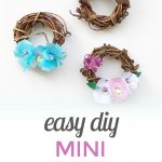 Mini Grapevine Wreaths {Easy DIY}