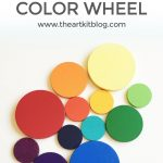 How to Make Your Own Color Wheel {Plus Fun Activity!}