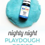 How to Make Playdough with Nighty Night Essential Oil