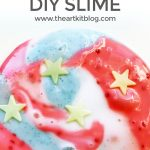 How to Make 4th of July Slime