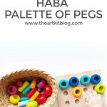 HABA Palette of Pegs: Open-Ended Play for Kids