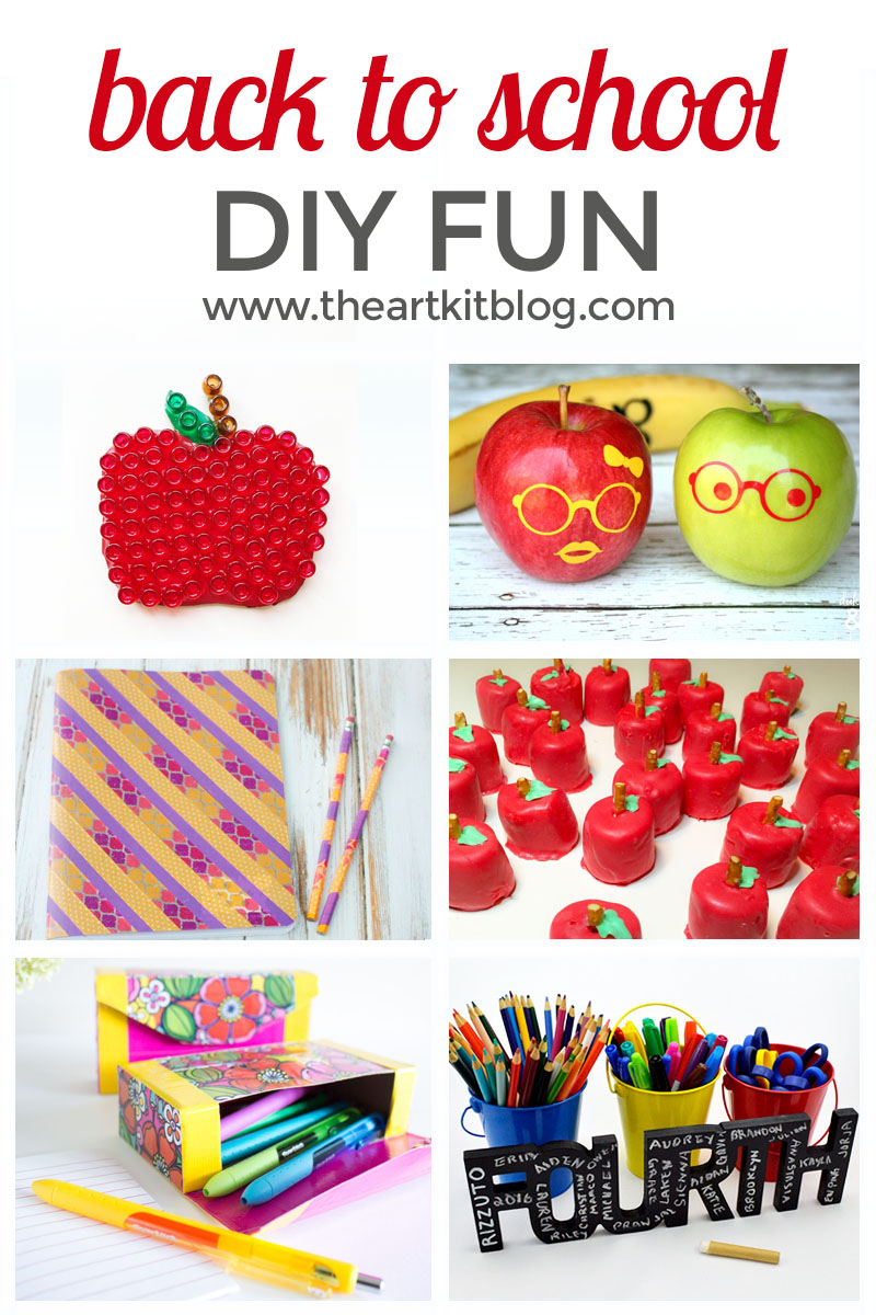 10 Awesome Back to School Crafts and Activities. Can you believe summer vacation is nearly over? We aren't quite ready to see the end of summer so I thought what better way to get into the back to school spirit than with a few awesome back to school crafts and activities! Read on to see our fun discoveries.