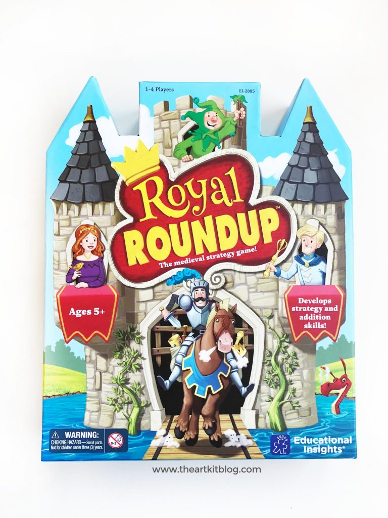 Educational Insights Royal Roundup Game Review - Make Learning about Math Fun!