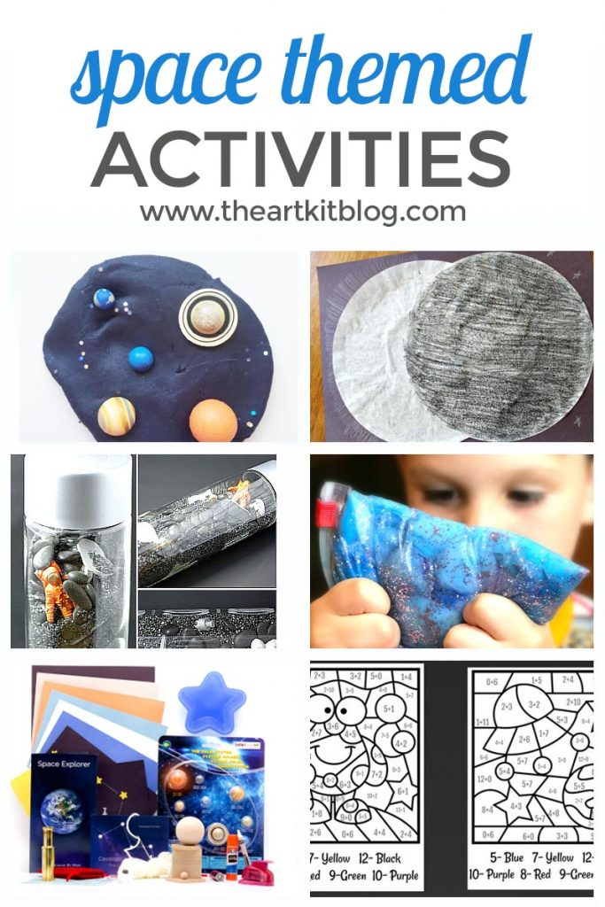 Space Crafts and Activities for Kids