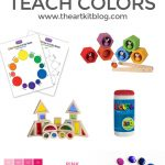 Ten Fun Ways to Teach Kids About Color