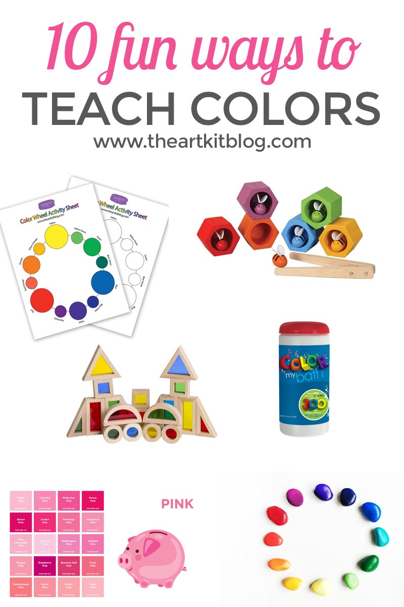 10 fun ways to teach kids about color