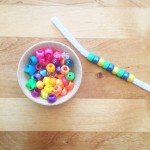 Pattern Play with Beads + Pipe Cleaner