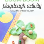 Chicka Chicka Boom Boom {Storytime + Playdough Activity}