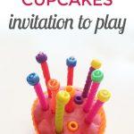 Playdough Cupcakes {An Invitation to Play}