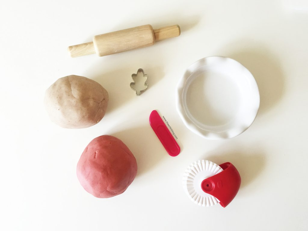 apple pie playdough recipe play dough natural scented