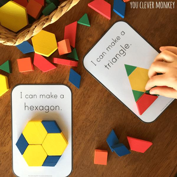 Free Pattern Block Templates For Kindergarten ✓ Quilting