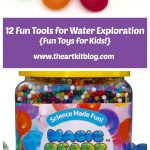 12 Fun Tools for Water Exploration {Fun Toys for Kids!}
