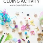 Easy Peasy Gluing Craft {An Invitation to Create}