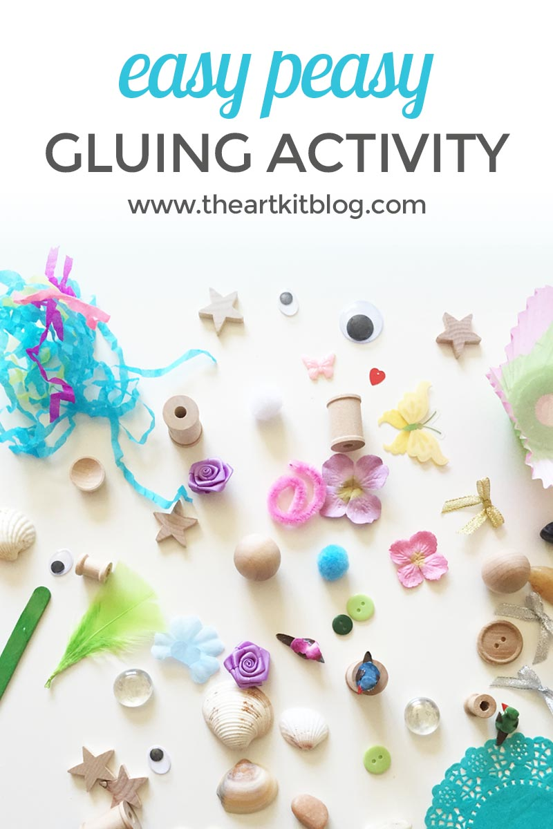 EASY PEASY GLUING ACTIVITY THE ART KIT