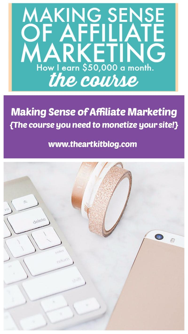 Making Sense of Affiliate Marketing. Click through to discover how Michelle earns over 50,000 a month through affiliate marketing.