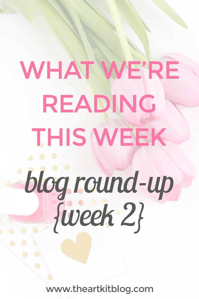 What we're reading at @theartkit www.theartkit.com. Click through to discover new favorite blogs.