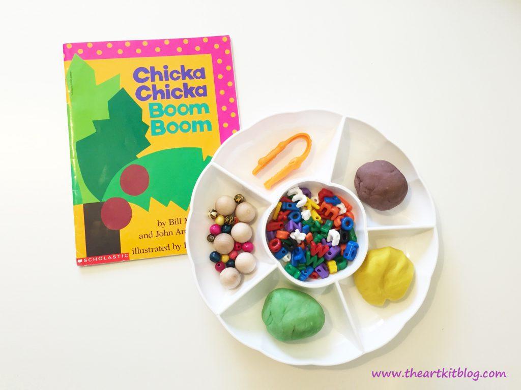 Chicka Chicka Boom Boom Story and Activity