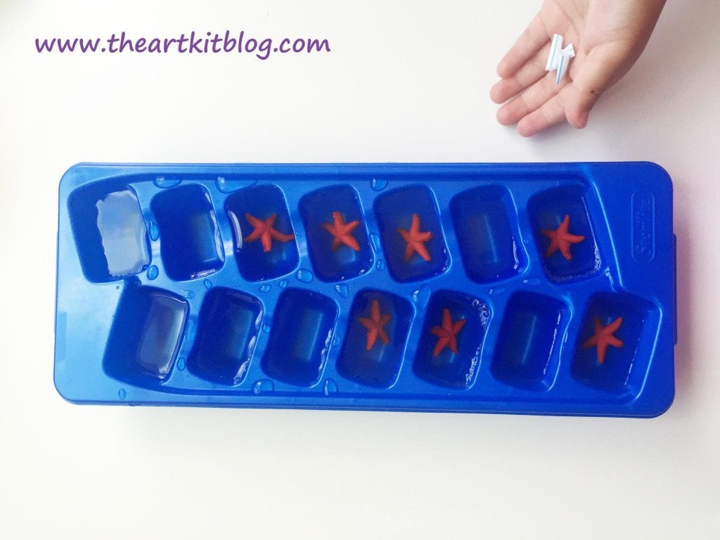 Ice Boats Flags Summer Water Kids Activity by The Art Kit Blog