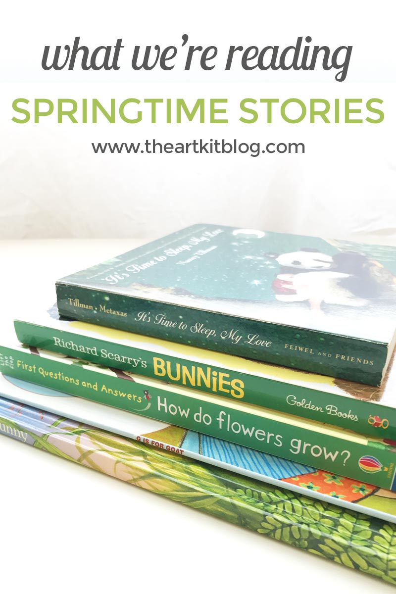 What we're reading this week at @theartkit www.theartkitblog.com - springtime stories