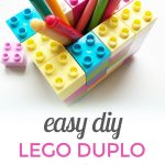 Lego Duplo Pen Holder