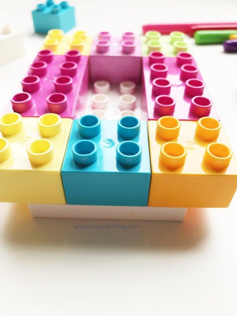 duplo lego pencil holder activity easy for kids the art kit pinterest 6