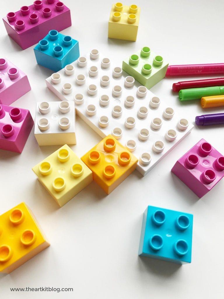 duplo lego pencil holder activity easy for kids the art kit pinterest 7