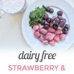 Strawberry Cherry Smoothie {Dairy Free}
