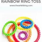 Ring Toss DIY with Perler Beads