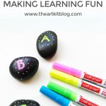 Alphabet Rocks {Making Learning Fun}