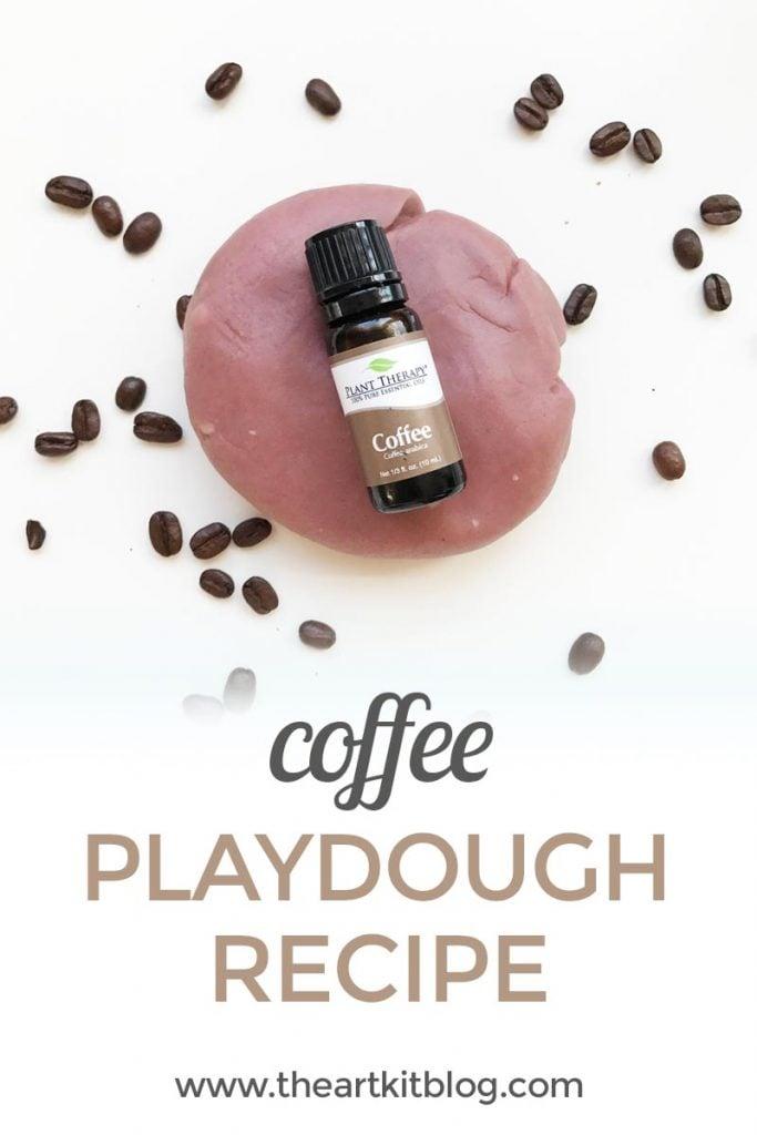 Coffee playdough recipe from @theartkit