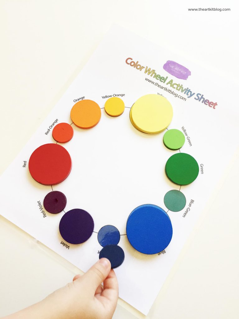 How to make your own color wheel from @theartkit www.theartkitblog.com