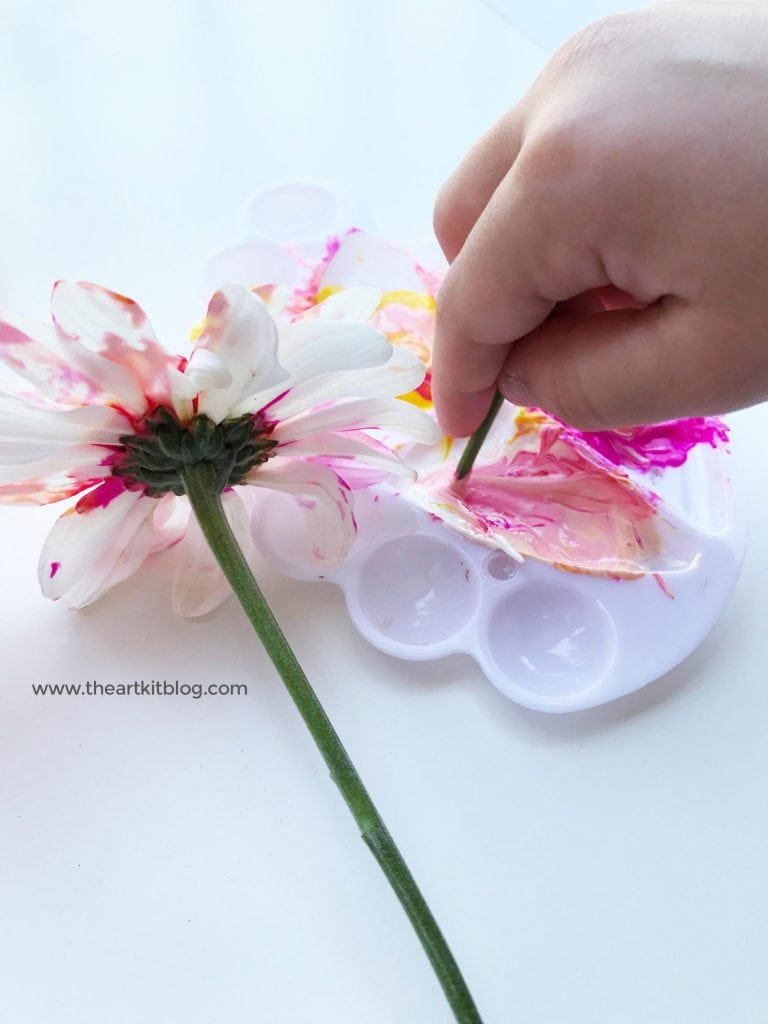 28916a5ec Painting with Flowers: Nature Art for Kids - The Art Kit