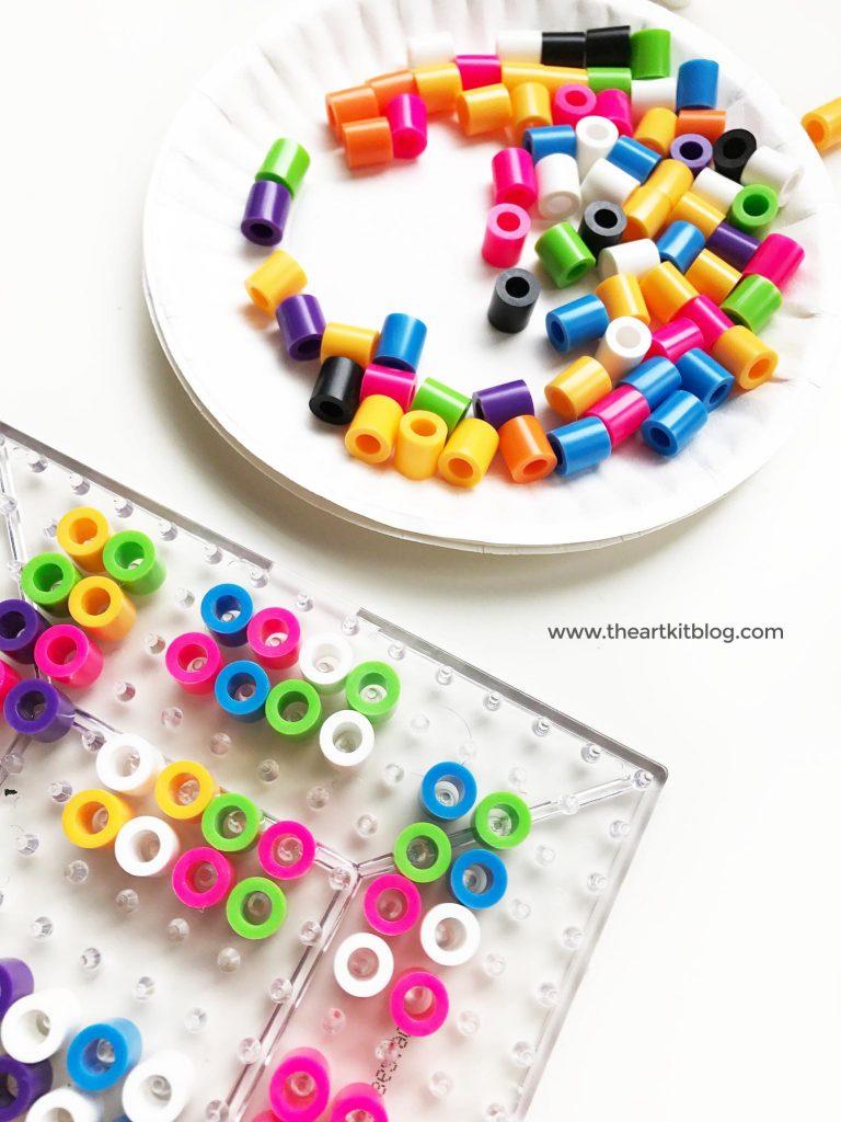 Make Your Own Dominoes from Perler Beads - The Art Kit