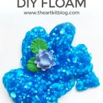 How to Make Floam {Without Borax}