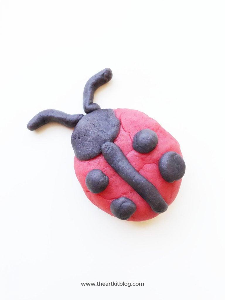 playdough activities ladybug craft nature playdough recipe the art kit blog