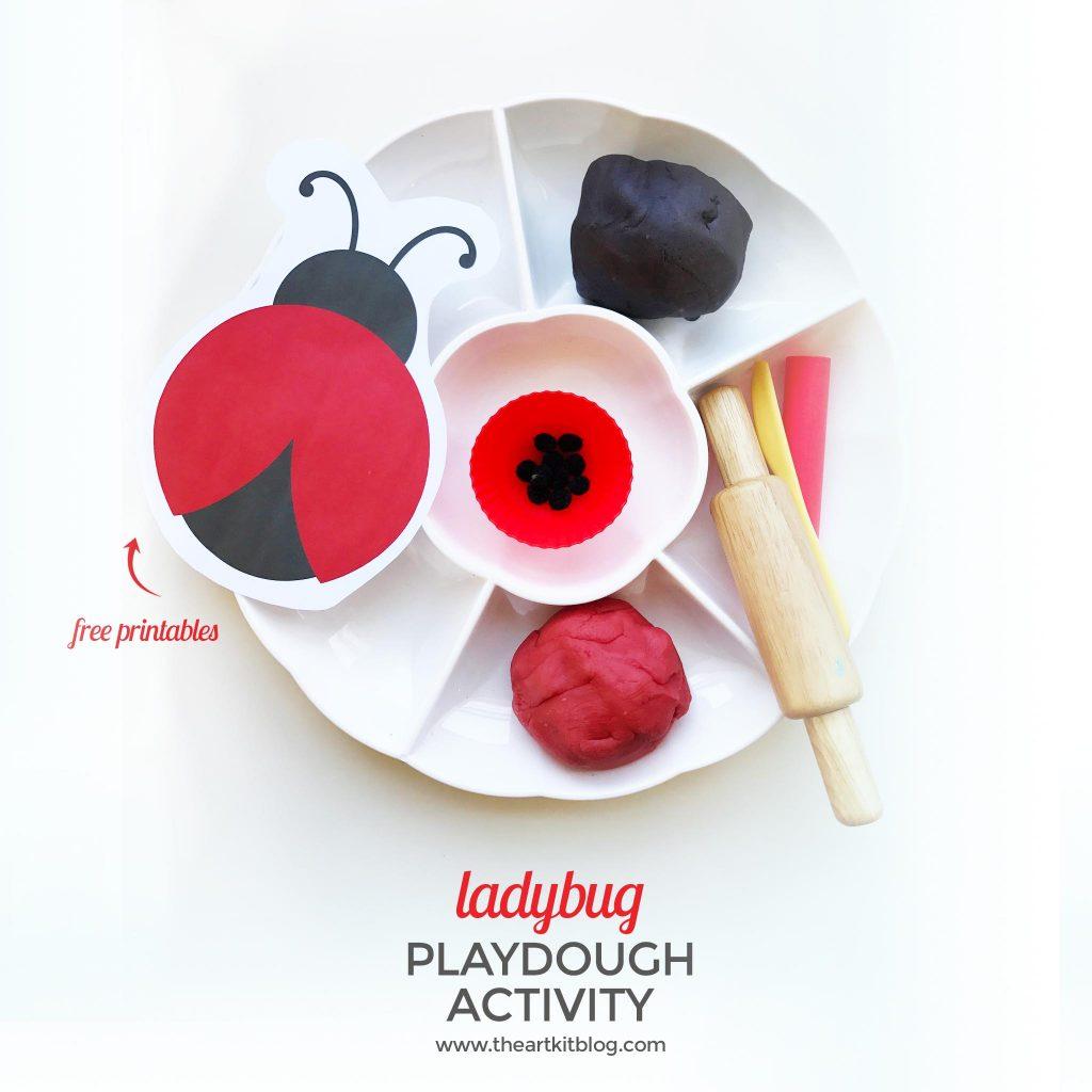 playdough activities ladybug nature playdough recipe the art kit blog FACEBOOK