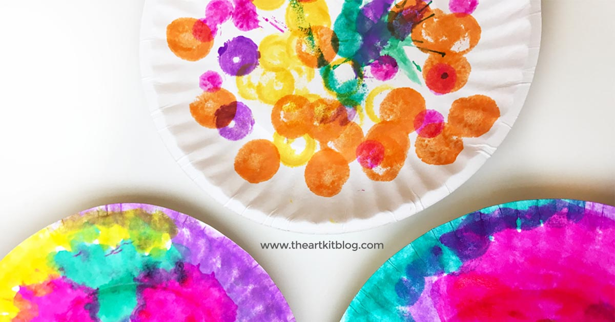 5 Minute Art Crafts Kids Do A Dot Markers Paper Plate Easy FACEBOOK