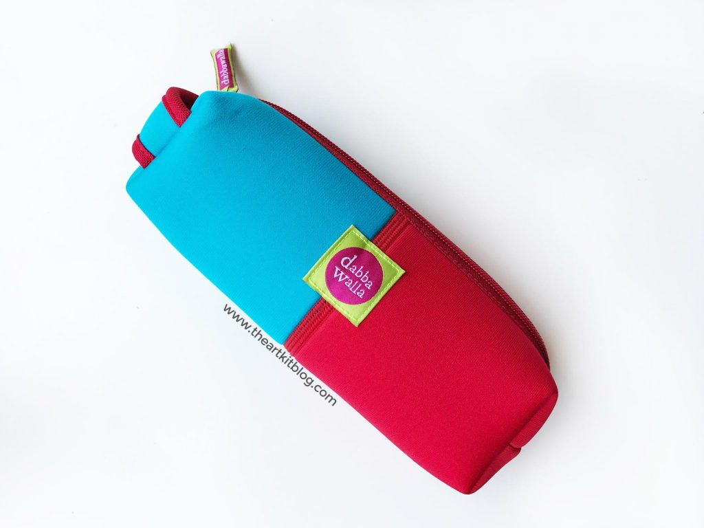 Art on the go travel art for kids with Dabba Walla pouches