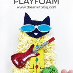 Pete the Cat Playfoam Activity for Kids
