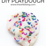 Easy Homemade Playdough with Sprinkles