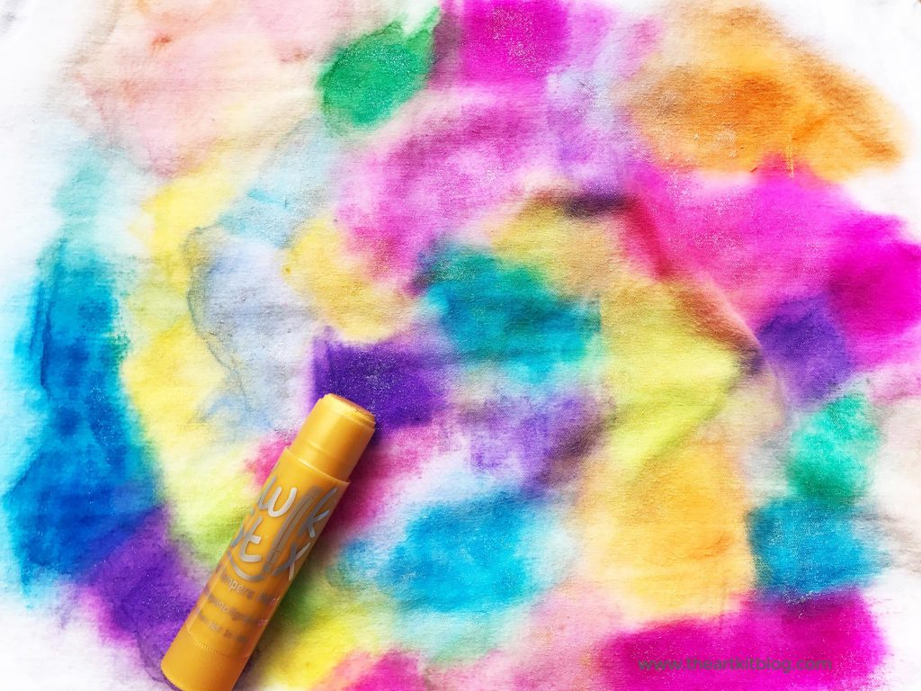 Watercolor Fabric Art
