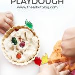 Easy Pumpkin Pie Playdough Recipe + Activity