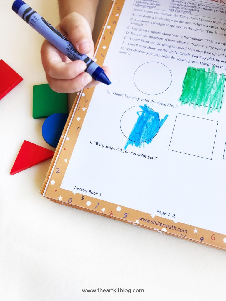Shiller Math and Language Arts Montessori Based Curriculum Review by the Art Kit