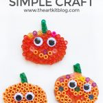 Unbelievably Easy Pumpkin Craft for Kids