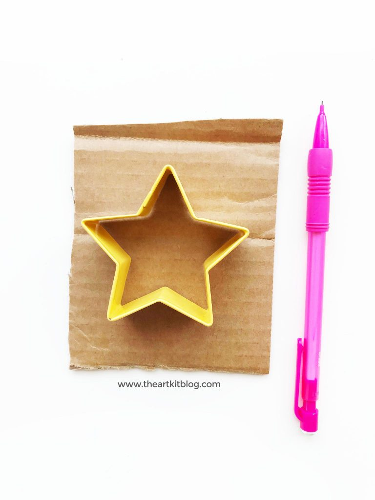 Christmas star craft for kids the art kit