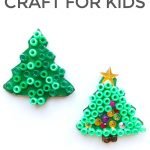 Unbelievably Easy Christmas Tree Craft for Kids